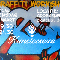GRAFFITY workshop bij kunstsessies.nl